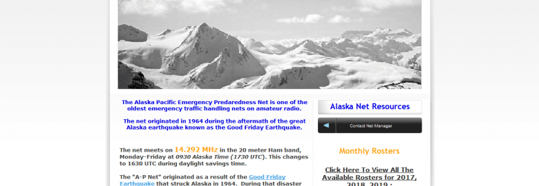 Alaska – Pacific Emergency Preparedness Net