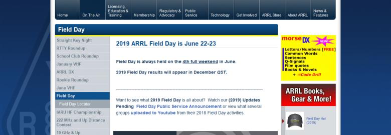 ARRL: Field Day