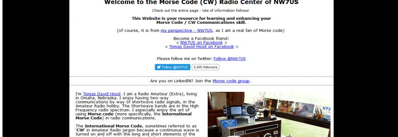 NW7US MorseCode Resource
