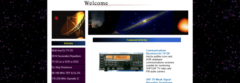 Todd Emslie's TV FM DX Site
