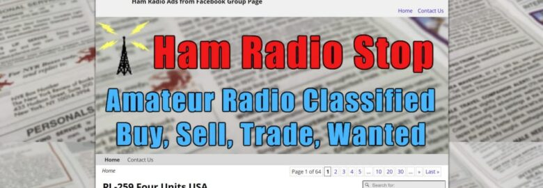 Ham Radio Stop Classified